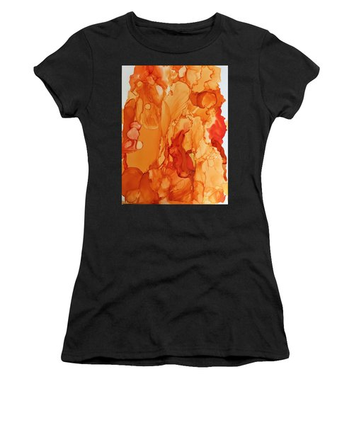 Orange Crush Women's T-Shirt (Athletic Fit)
