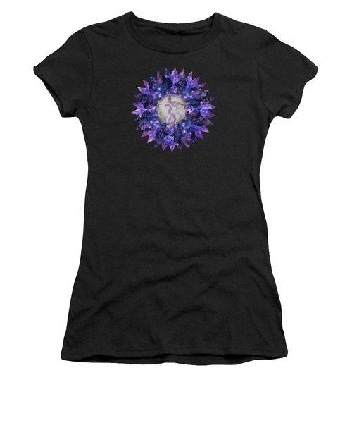 Crystal Magic Mandala Women's T-Shirt (Athletic Fit)