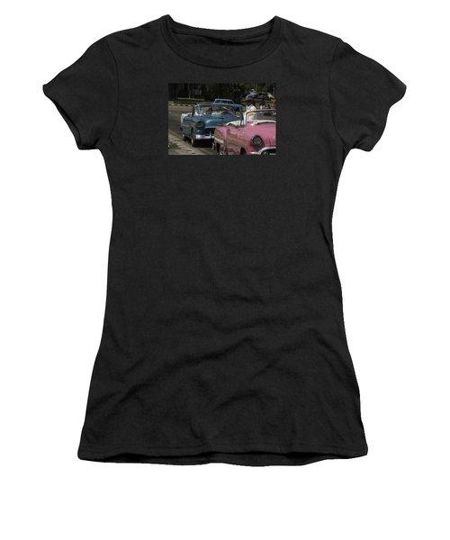 Cuba Car 4 Women's T-Shirt (Athletic Fit)
