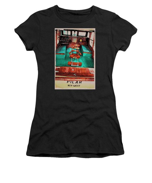 Cuba Hemingway Pilar Women's T-Shirt