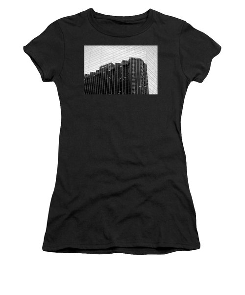 Women's T-Shirt (Junior Cut) featuring the photograph Cubicle Farm by Valentino Visentini