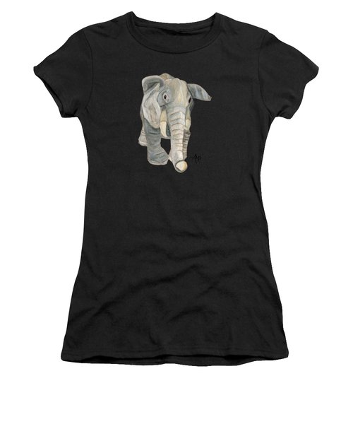 Cuddly Elephant Women's T-Shirt