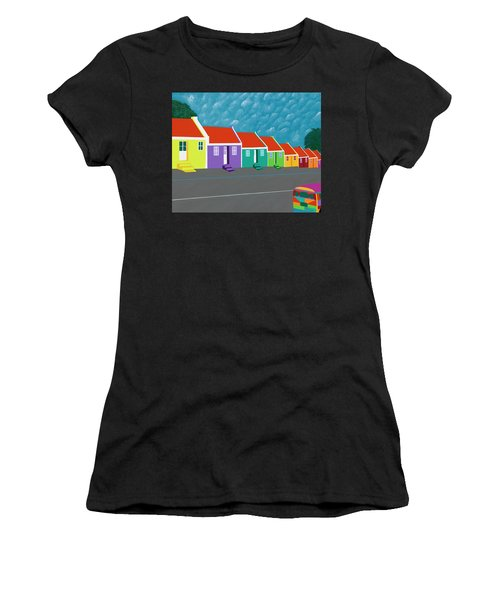 Curacao Dreams IIi Women's T-Shirt (Athletic Fit)