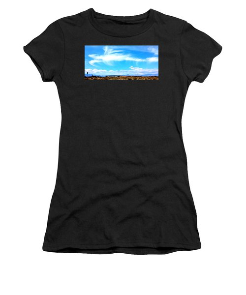 Dragon Cloud Over Suburbia Women's T-Shirt
