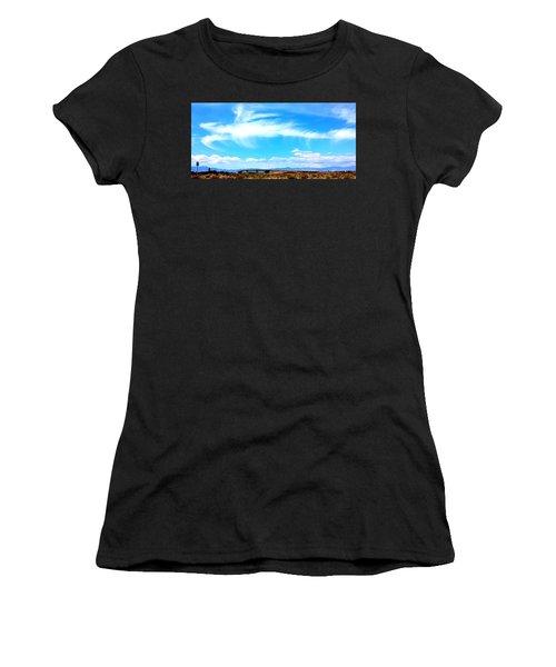 Dragon Cloud Over Suburbia Women's T-Shirt