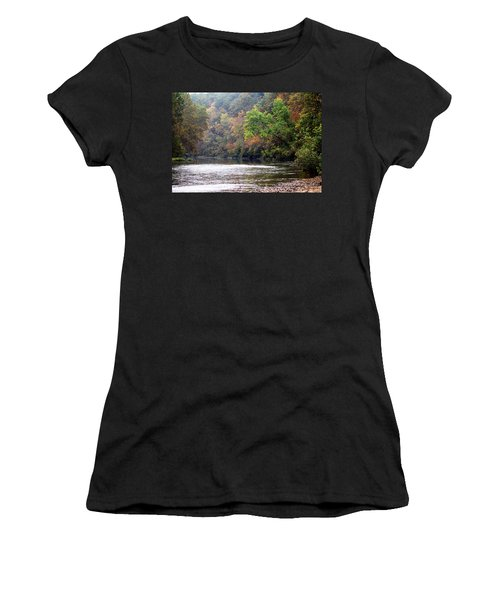 Current River Fall Women's T-Shirt (Athletic Fit)