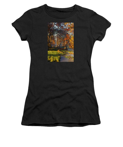 Curry Stream Fall Women's T-Shirt