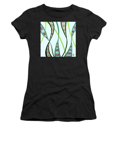 Curvaceous Women's T-Shirt (Junior Cut) by Tara Hutton
