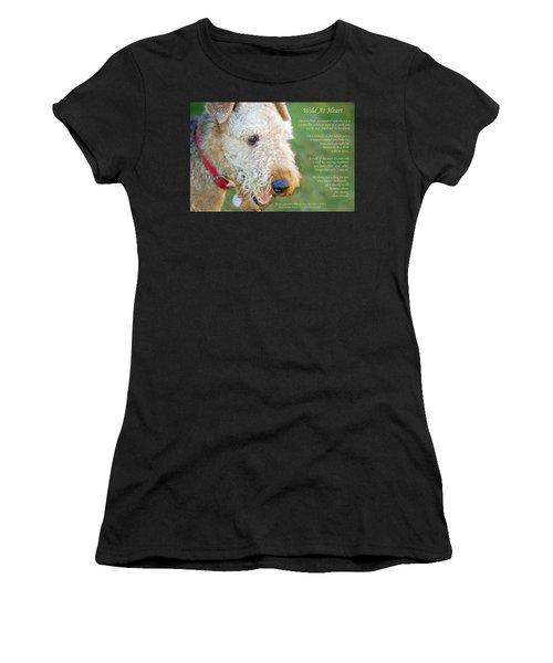 Custom Paw Print Dakota Women's T-Shirt (Athletic Fit)