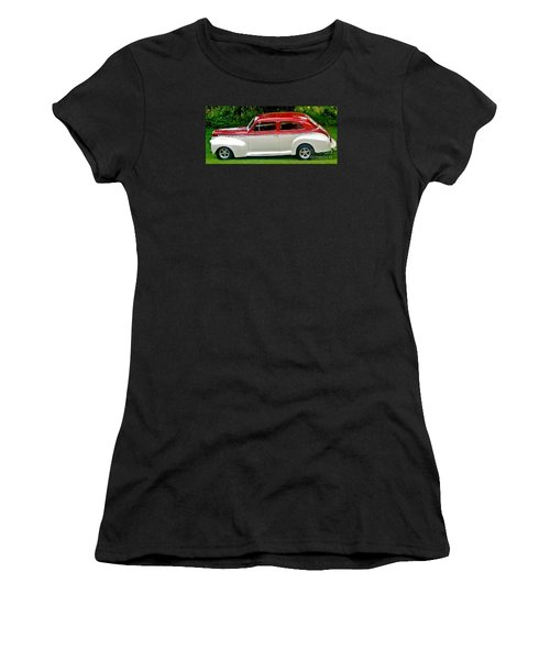 Customized Forty One Chevy Hot Rod Women's T-Shirt (Athletic Fit)