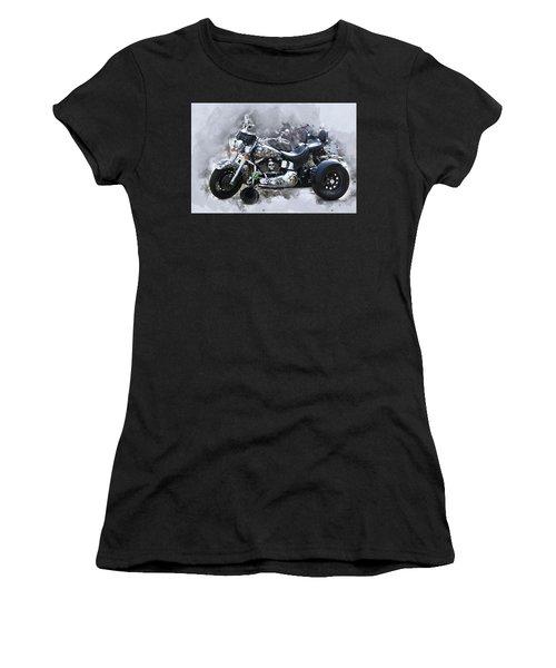 Customized Harley Davidson Women's T-Shirt