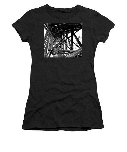 Cut River Bridge Women's T-Shirt