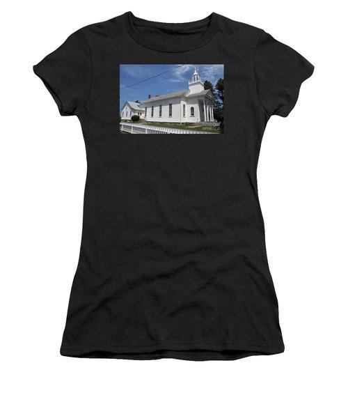 Cutchogue United Methodist Church Women's T-Shirt