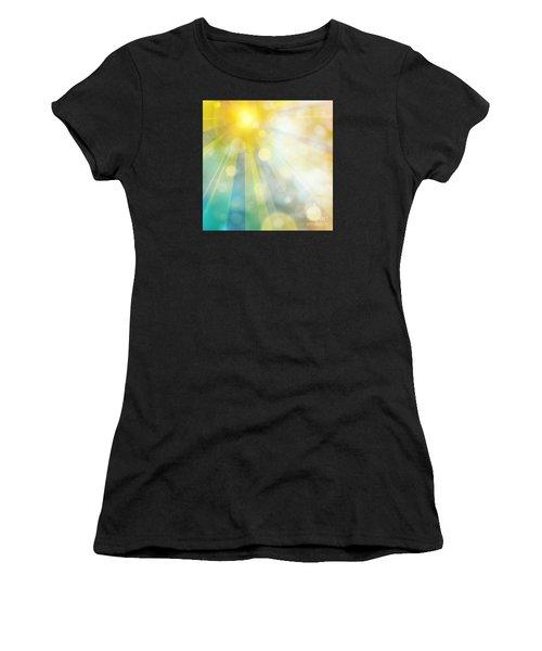 Cute Summer Women's T-Shirt (Athletic Fit)