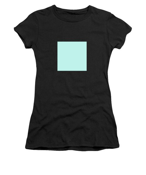 Cyan Ultra Soft Pastels Colour Palette Women's T-Shirt