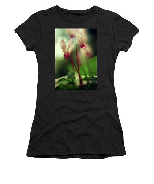 Cyclamens Women's T-Shirt