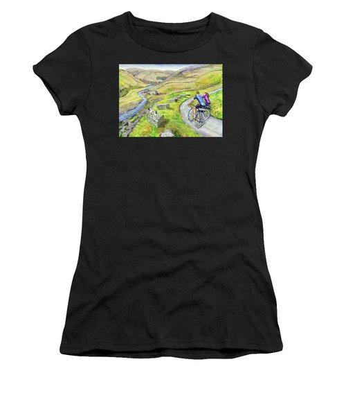 Lancashire Lanes I Women's T-Shirt (Athletic Fit)