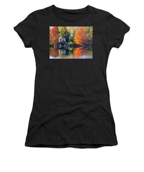 Cypress Gold Women's T-Shirt (Athletic Fit)