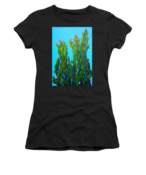 Cypressing A Wave Women's T-Shirt