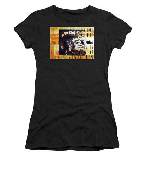 D U Rounds Project, Print 14 Women's T-Shirt