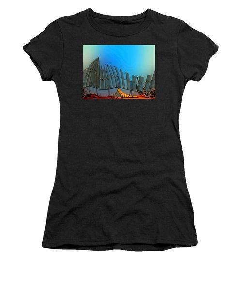 Da Vinci's Outpost Women's T-Shirt (Athletic Fit)