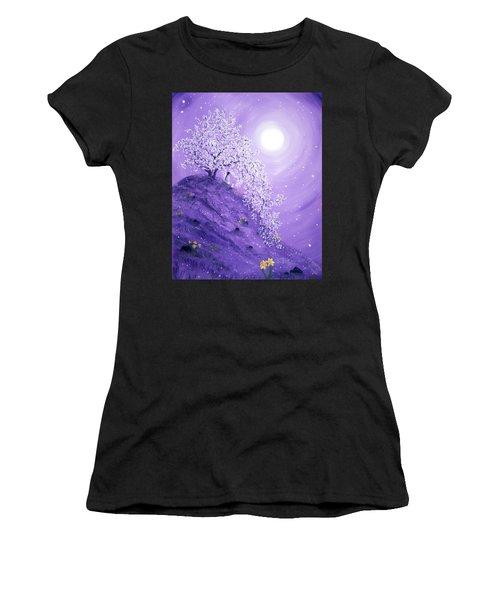 Daffodil Dawn Meditation Women's T-Shirt