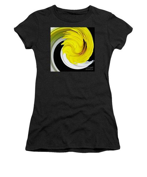Daffodil Twist Women's T-Shirt (Junior Cut) by Sarah Loft