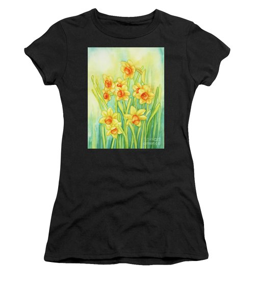Daffodils In Yellow Women's T-Shirt