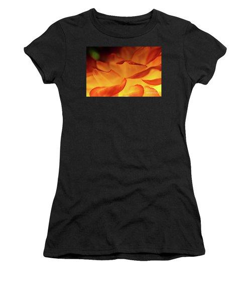 Dahlia Delight Women's T-Shirt (Athletic Fit)