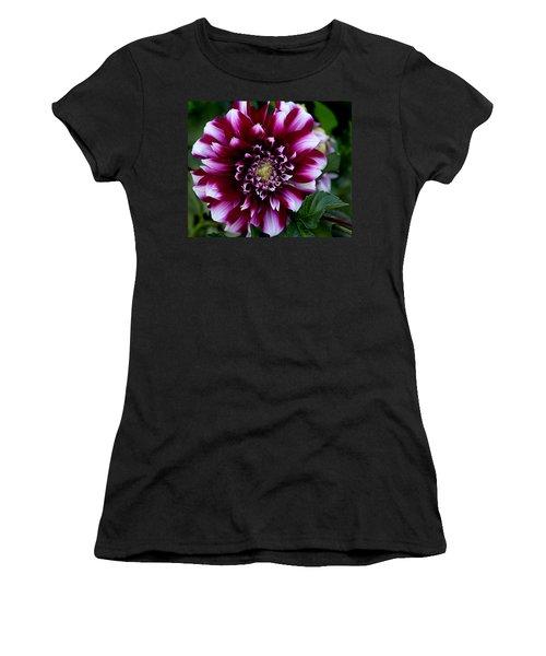 Dahlia Women's T-Shirt (Junior Cut) by Denise Romano