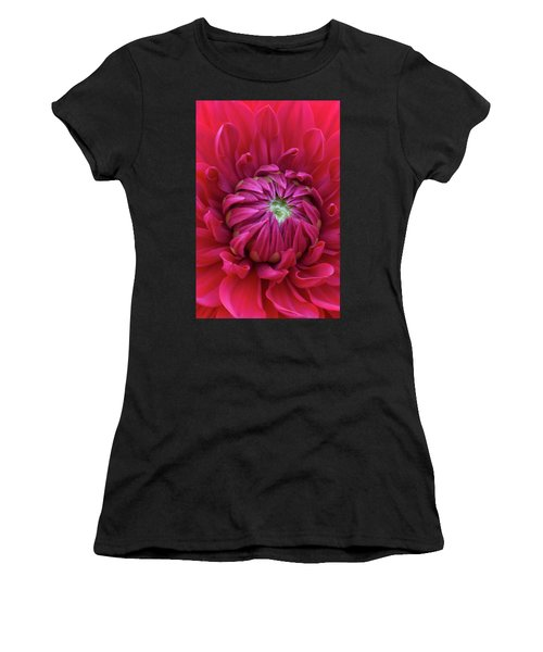 Dahlia Heart Women's T-Shirt