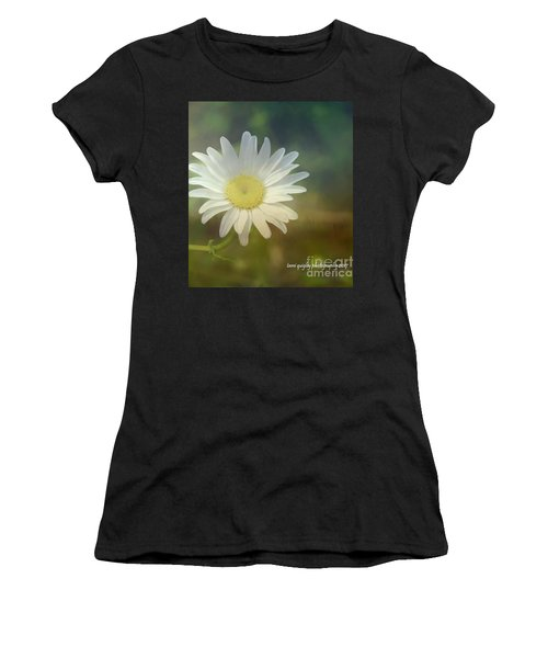 Daisies Don't Tell Women's T-Shirt