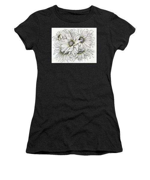 Sunflowers Pencil Women's T-Shirt