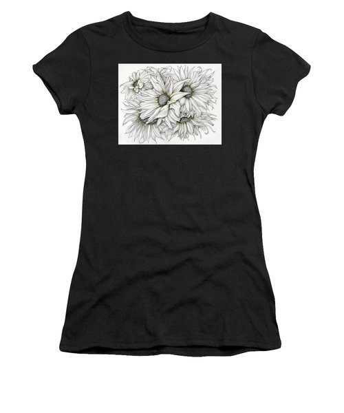 Sunflowers Pencil Women's T-Shirt