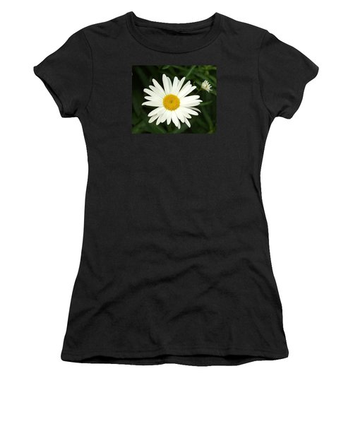Daisy Days Women's T-Shirt (Junior Cut) by Carol Sweetwood