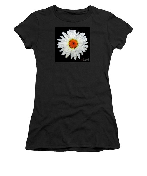 Women's T-Shirt (Junior Cut) featuring the photograph Daisy  by Patricia L Davidson