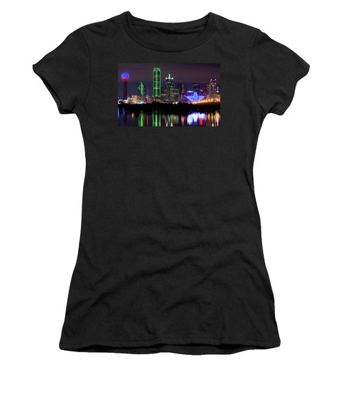 Dallas Cowboys Star Night Women's T-Shirt