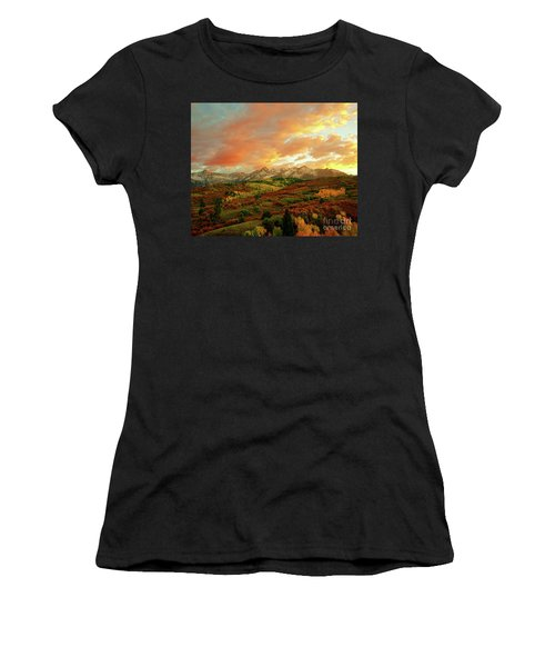 Dallas Divide Sunset Women's T-Shirt (Athletic Fit)