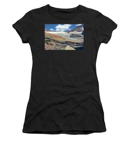Daly Glacier And Yoho National Park Adventure Women's T-Shirt (Athletic Fit)