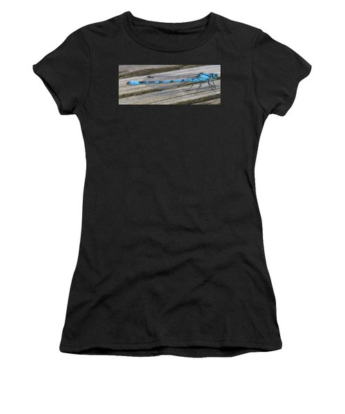 Damselfly Women's T-Shirt (Junior Cut) by Darren Carpenter