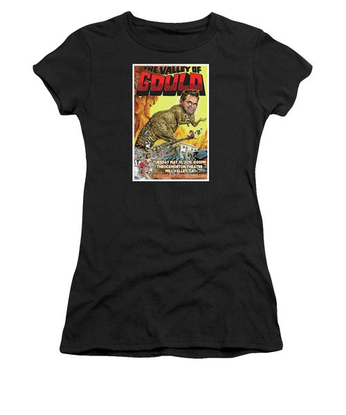 Dana Gould At The Throckmorton Theatre Women's T-Shirt (Junior Cut) by Mark Tavares