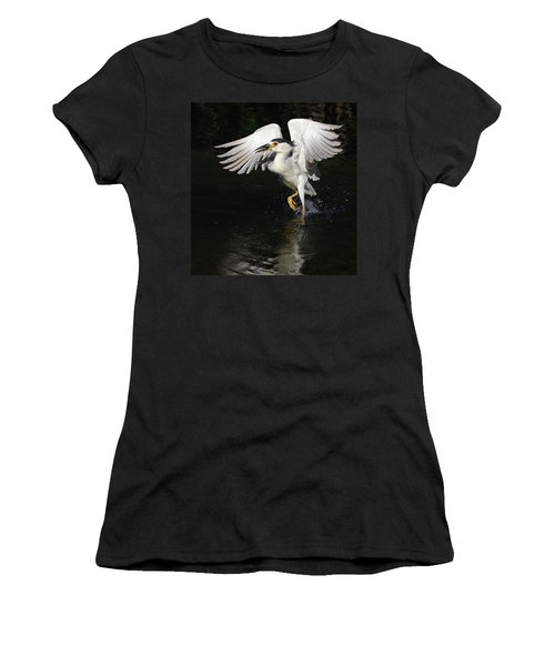 Dance On Water. Women's T-Shirt (Athletic Fit)
