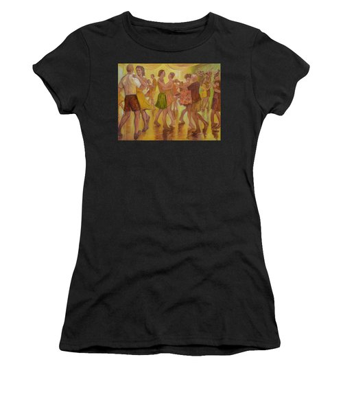 Dance Trance Women's T-Shirt (Athletic Fit)