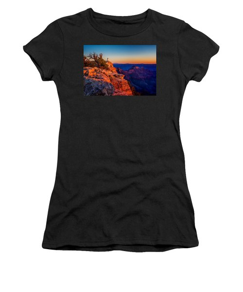 Dancer On The Ledge Women's T-Shirt (Athletic Fit)