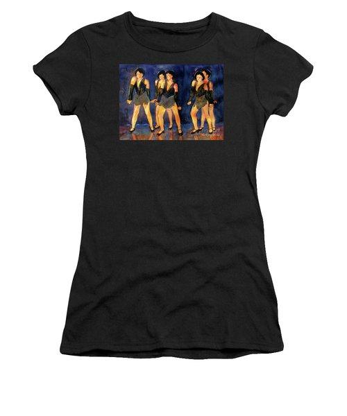 Dancers  Spring Glitz     Women's T-Shirt