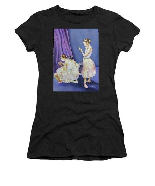Dancer's Women's T-Shirt (Athletic Fit)