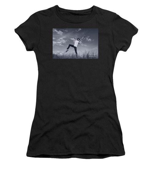 Dancing At The Beach Women's T-Shirt (Athletic Fit)