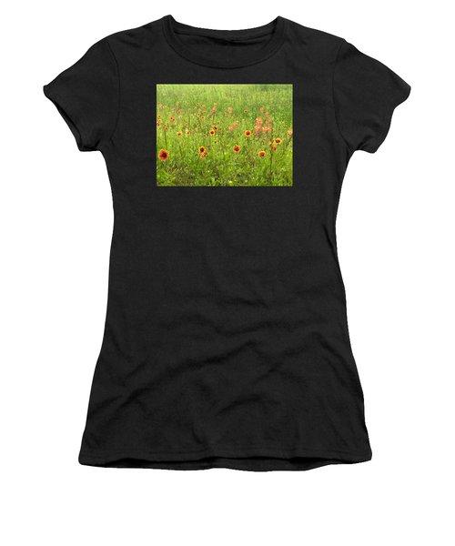 Dancing Beauties Women's T-Shirt (Athletic Fit)