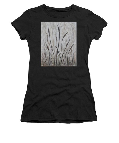 Dancing Cattails 3 Women's T-Shirt (Athletic Fit)