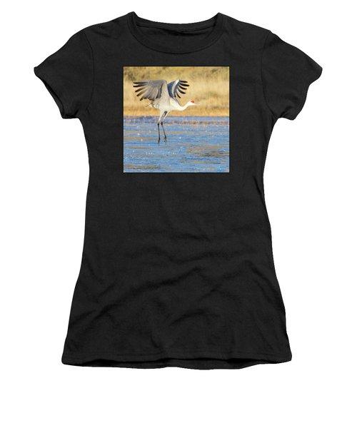 Dancing Crane Women's T-Shirt